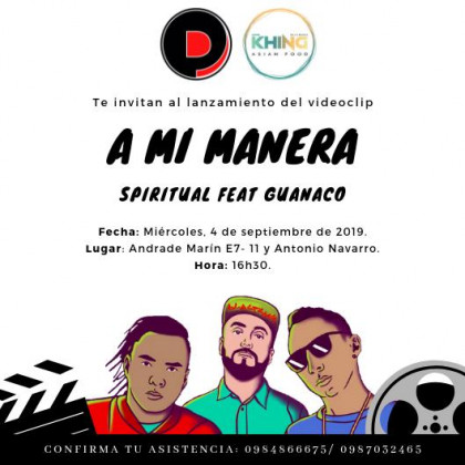 http://artistas.mbnecuador.com/wp-content/uploads/2019/09/INVITACION-LANZAMIENTO-VIDEOCLIP-A-MI-MANERA.jpeg